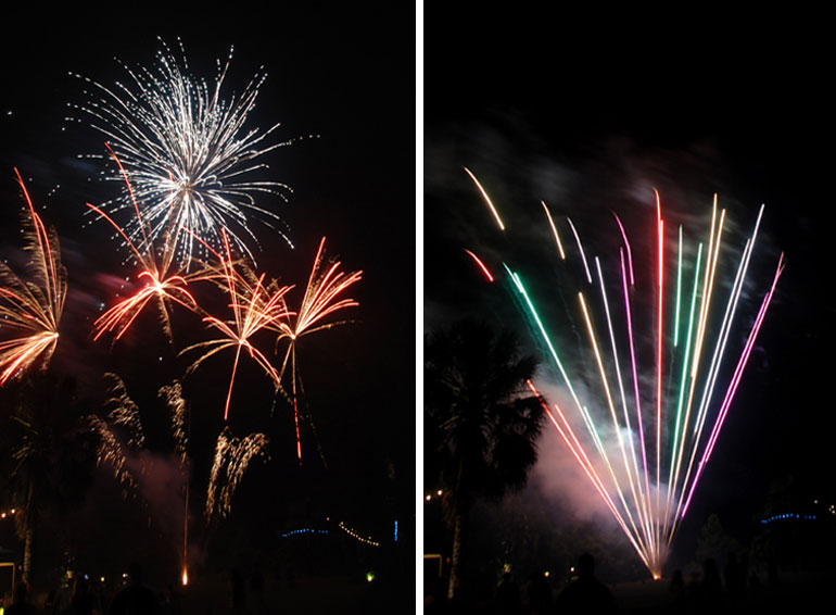 770-fireworks ending  wedding