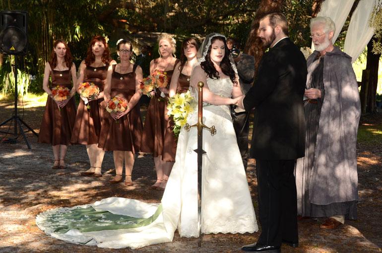unique celtic wedding